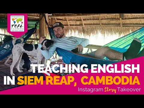 Day in the Life Teaching English in Siem Reap, Cambodia with Tylor Hill Hanson