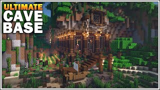 Minecraft Timelapse: The Ultimate Cave Base [How to Build]