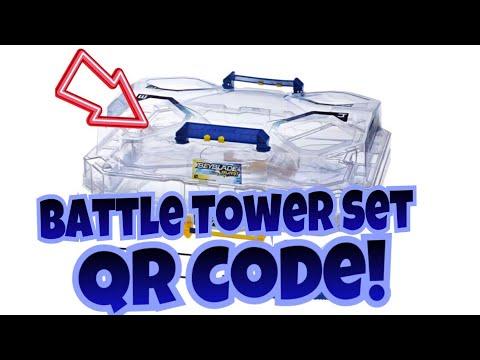 Beyblade Burst Battle Tower Set Qr Code!