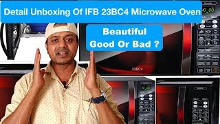 Detail Unboxing Of IFB 23BC4, Best Microwave Convection Oven In The Price Range, 23 Litter Capacity.