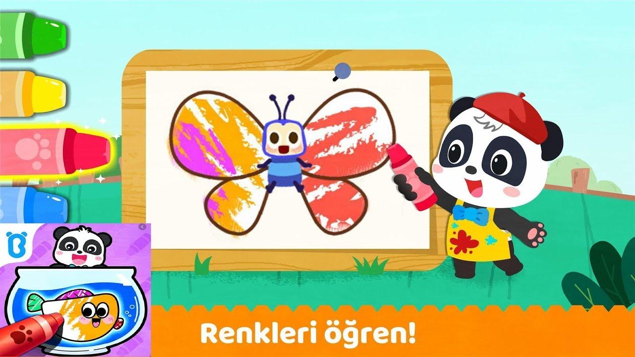 Baby Panda S Coloring Book Android Gameplay Bebek Panda Nin Boyama