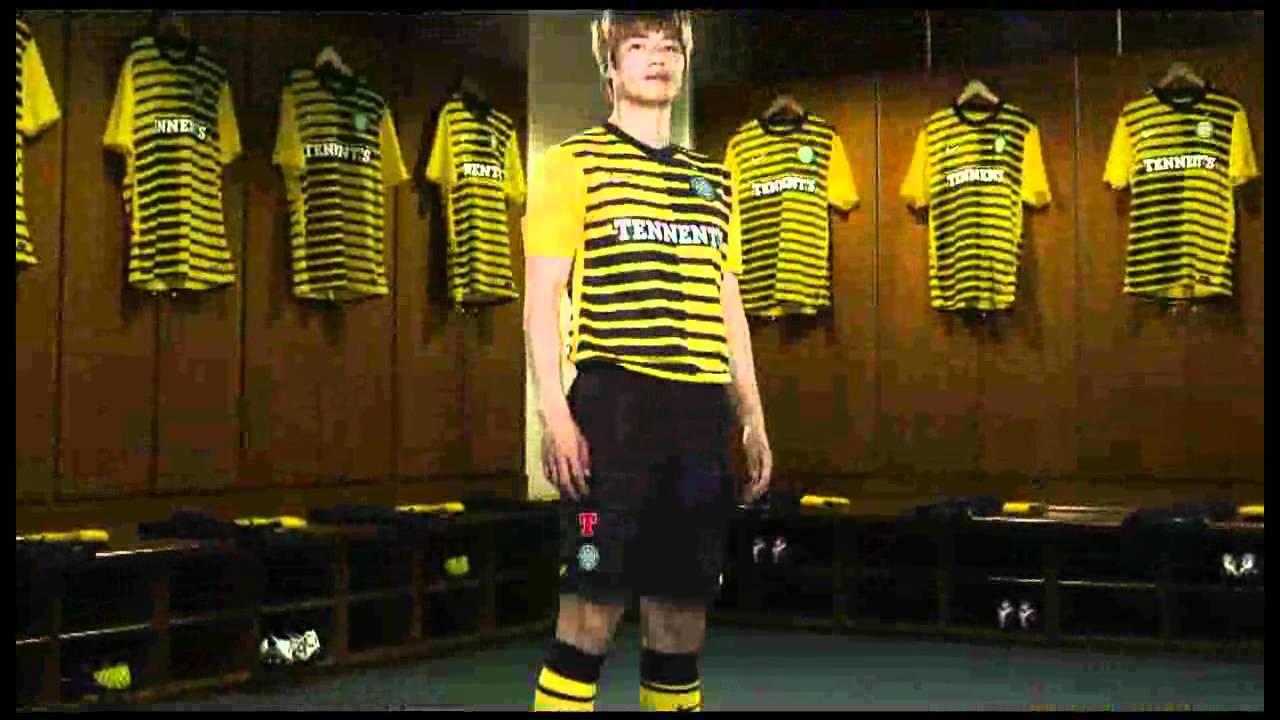 403e1d2facd Celtic FC Nike 2011/12 Third Kit / Jersey - YouTube