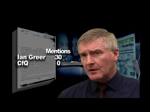 Cash for Questions 39: Further proof of a criminal cover-up Part 1