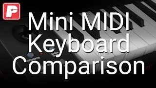 Mini MIDI Keyboard Comparison