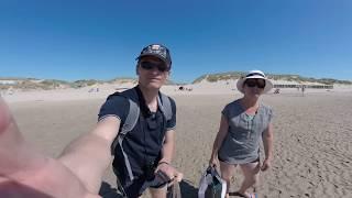 La mer du Camping Belle Dune à 5 etoiles à 100 m, video 1.