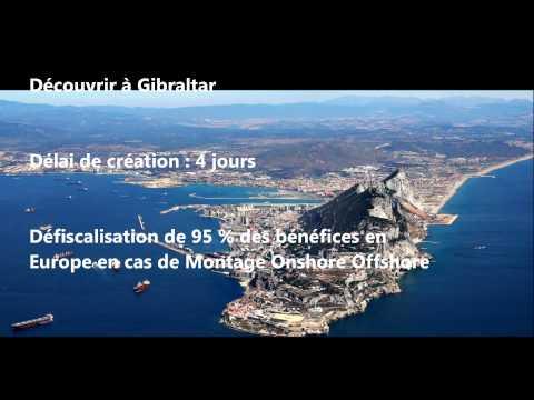 Création société à Gibraltar avec compte bancaire 1499 € FLEXIBIZZ Gibraltar