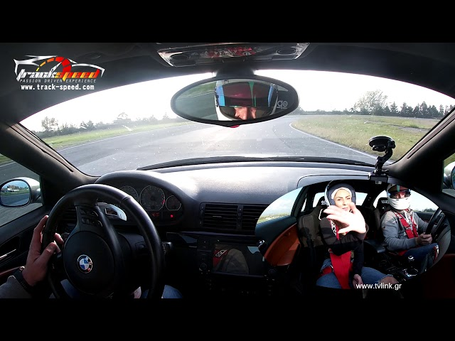 Taxi lap with M3 driven on Serres Circuit Track-speed.com