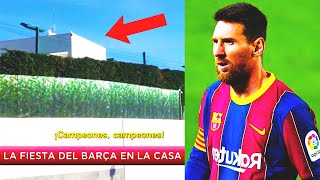 MESSI HAS HUGE TROUBLES after PARTY at his house! INVESTIGATION against MESSI and BARCELONA!