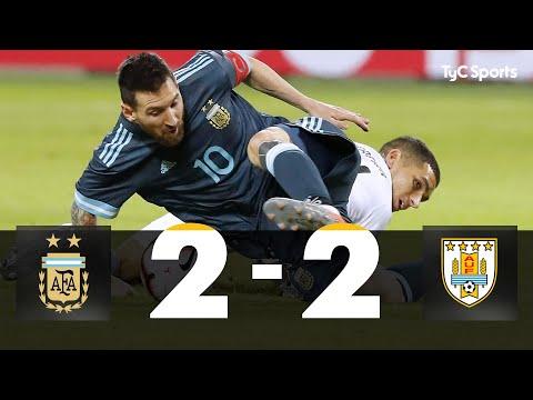 Con un gol de Messi sobre el final, Argentina salvó el partido