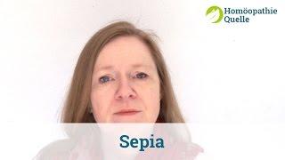 Sepia Homöopathie - Anwendung und Wirkung