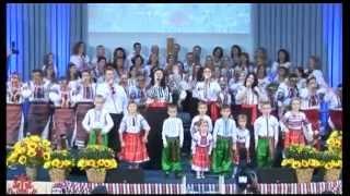 """Пісня """"Гей, співає Україна!""""  Служіння 22-ї річниці церкви """"Спасіння"""""""