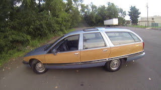 Review for 1991 Buick Roadmaster Estate station Wagon Woody Station