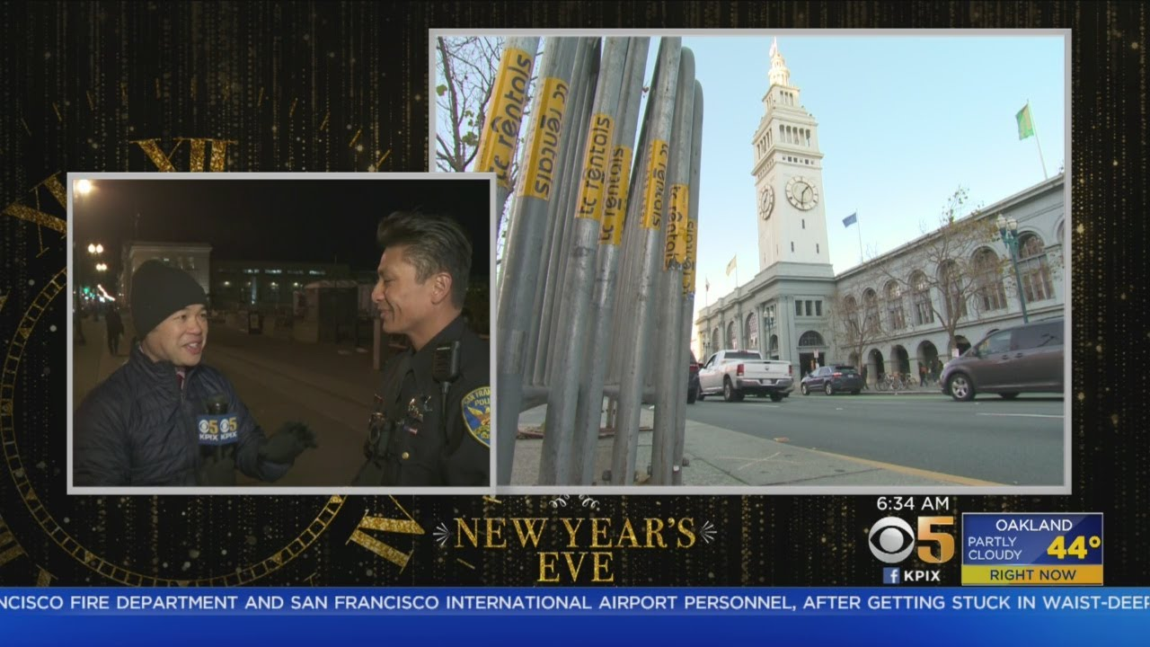 San Francisco Prepares To Ring In 2019