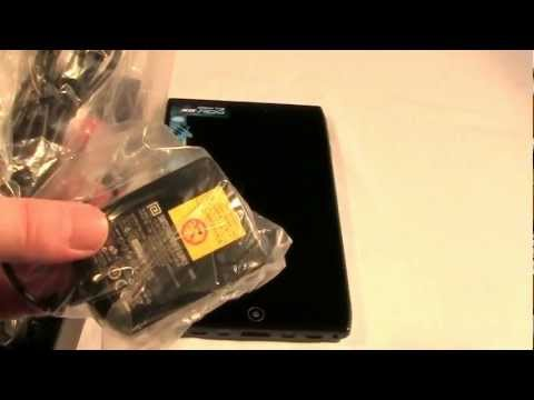 Acer Iconia A100 Unboxing Video