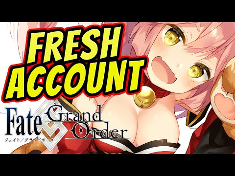 NEW Scrub Account :( : Fate/Grand Order