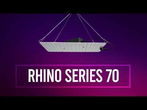 Rhino Series 70 - Lampe horticole LED pour la croissance et la floraison