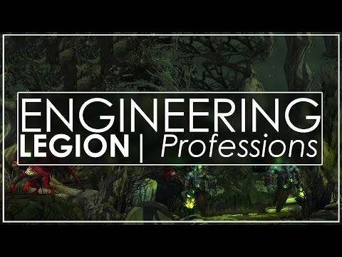 WoW Legion: First Look At Engineering - Your Own Fel Reaver!