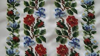 Вышитая рубашка бисером (Вишита сорочка бісером)