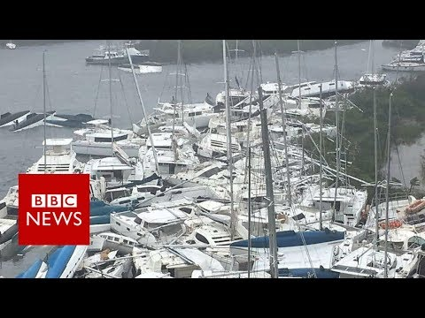 Hurricane Irma: 'I have declared a state of emergency' - BBC News