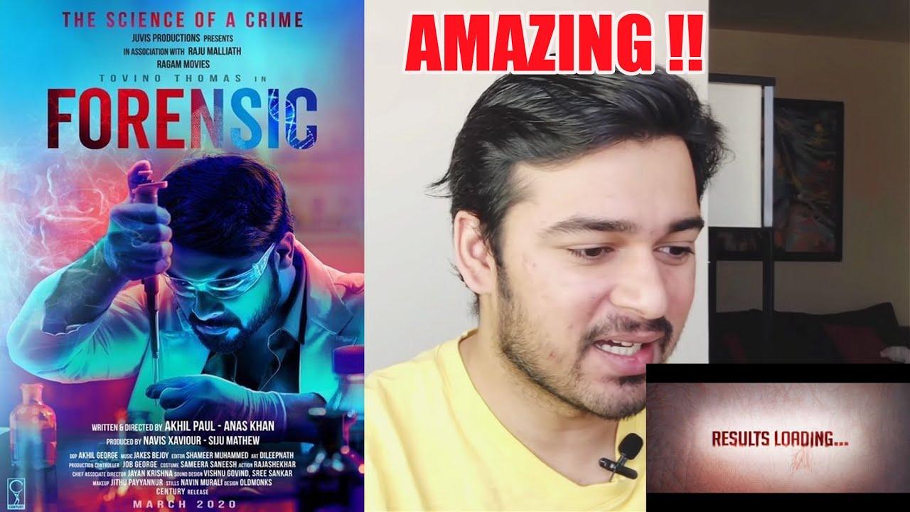 Forensic Malayalam Movie Trailer Reaction Youtube