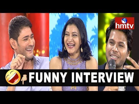 Mahesh Babu Funny Interview with Manasuku Nachindi Movie Team   hmtv News
