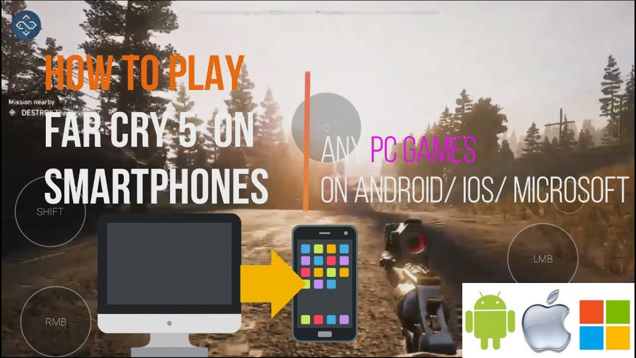 Play all PC games on Android,iOS,Microsoft Smartphones|| Playing FAR CRY 5  on Mobile using Remotr ||