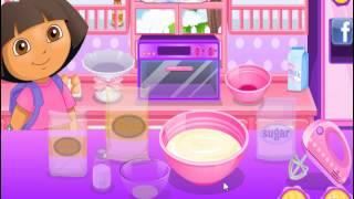 Explore Cooking with Dora (Даша исследует мир кулинарии) - прохождение игры