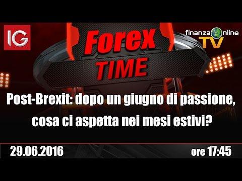 Forex Time - Post-Brexit: dopo un giugno di passione, cosa ci aspetta nei mesi estivi?