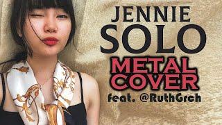 Gambar cover Jennie - Solo // Rock/Metal Cover