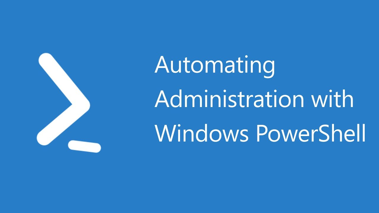 Automating Administration with Windows PowerShell - 10961