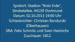 8. Spieltag SV Darmstadt 98 - Borussia Dortmund II (02.10.13)