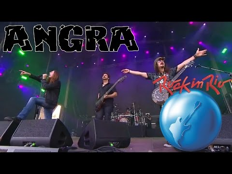 Angra - Live in Rock in Rio  2015 feat. Dee Snider & Doro Pesch (full show 720p HDTV)