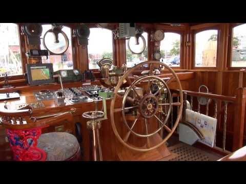 Steam Vessel George Stephenson - Backstage