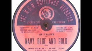 Jimmy Stewart - Navy Blue and Gold