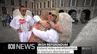 Ireland abortion referendum returns huge majority for Yes campaign