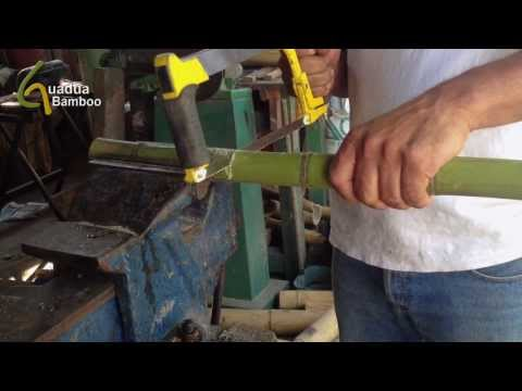 How to Bend Bamboo in a 90 degree angle?