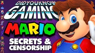 Mario Secrets & Censorship - Did You Know Gaming? Feat. Remix of WeeklyTubeShow