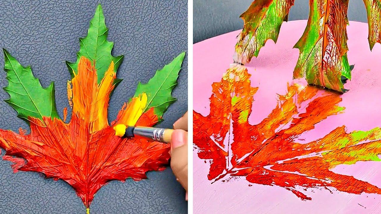 أفكار مسلية للرسم لتبدعوا تحفًا فنية مدهشة في المنزل