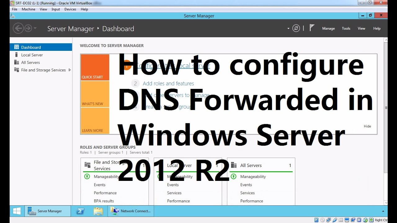 8  How to Configure DNS Forwarder