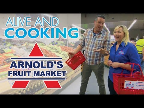 Alive and Cooking - Arnold's Fruit Market