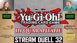 YuGiOh Duelle deutsch 32 Quarantäne Twitch Stream Trader Trading Card Super Store TCG Duel YGO Match