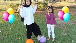 تحدي البالونات مع سوار