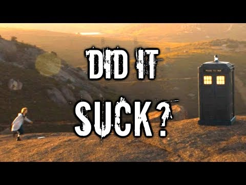 DID IT SUCK? - Doctor Who [THE GHOST MONUMENT REVIEW]