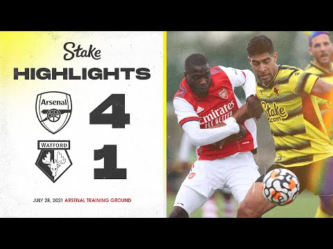 Arsenal 4-1 Watford   Pre-Season Highlights