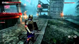 Ryse: Son of Rome Gladiator co-op Gameplay 720p