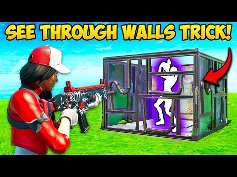 *new Trick* See Through Any Wall!! – Fortnite Funny Fails And Wtf Moments! #728