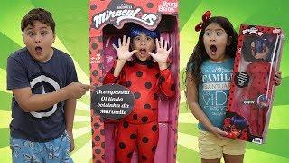MARIA CLARA E A NOVA BONECA LADYBUG GIGANTE DE VERDADE ♥ Maria and new Ladybug doll