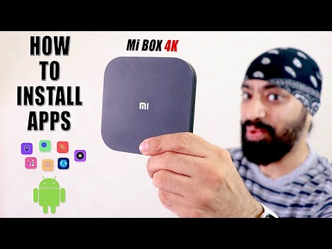 How to Install (Side-load) Apps on Mi Box 4K - Step by Step by Tech Singh