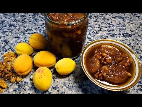 Абрикосовое варенье с орехами 🌟 Apricot Jam With Nuts