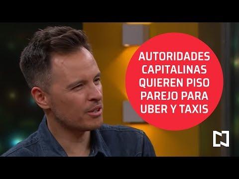 Autoridades capitalinas quieren piso parejo para Uber y Taxis - Punto y Contrapunto